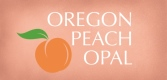 Oregon Peach Opal Logo