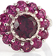 View rhodolite garnet ring at Shop LC.