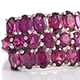 Find exclusive design rhodolite garnet ring at Shop LC.