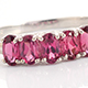 Attractive rhodolite garnet ring at Shop LC.