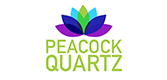 Peacock Quartz Logo