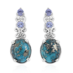 Persian Turquoise Earrings.