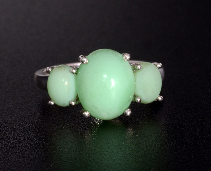 Ethiopian Sable Opal Ring