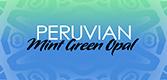 Peruvian Mint Green Opal Logo