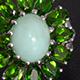 Peruvian Mint Green Opal  Jewelry