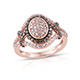 Designer Pink Diamond Ring at Shop LC.