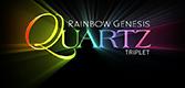 Rainbow Genesis Quartz Logo