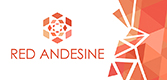 Red Andesine  Logo