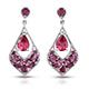 Rose danburite earrings.