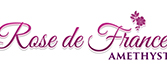 Rose De France amethyst Logo