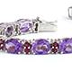 Rose De France amethyst Bracelet
