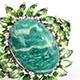 Russian Amazonite Jewelry