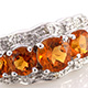 Santa Ana Madeira citrine ring in sterling silver.