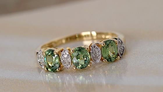 Sava Sphene Jewelry
