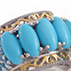 Variety of turquoise rings for women.