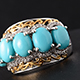 Large Sonoran Blue Turquoise Ring