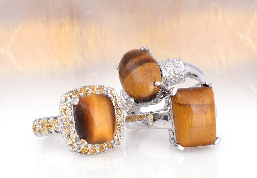 Gemstone tigers eye quartz jewelry information value meaning south african tigers eye jewelry mozeypictures Images