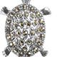 Swiss marcasite turtle charm.