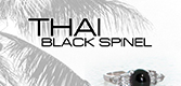 Thai Black Spinel Logo