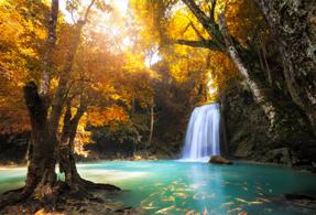 Thailand landscape.