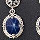 Thai Blue Star Sapphire Jewelry