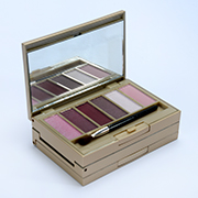 Mario De Luigi's Cosmetic Collection Gold Slim Brick