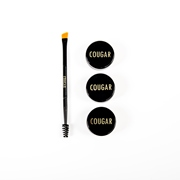 Cougar Beauty Mineral 3D Brow Kit and Brush.