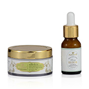 Just Herbs Gotukola Indian Ginseng Rejuvinating Beauty Elixir + Silkskin Indian Ginseng-Aloevera Moisturising Cream