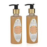 Just Herbs Kumuda- Sacred Indian Lotus rejuvenating body wash  (Set of 2)