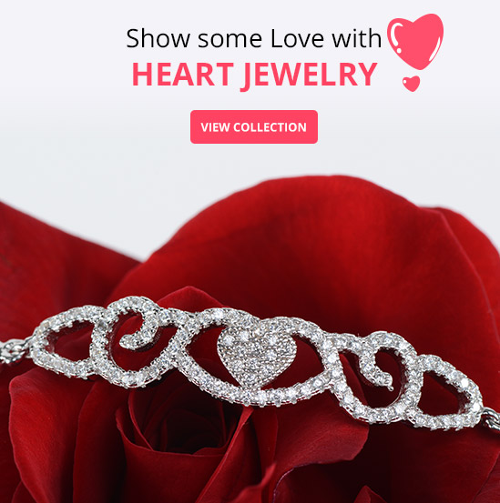 Show some love with Heart Jewellery