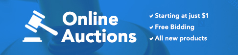 Enjoy online auctions starting at just $1 at Shop LC.