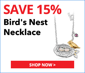 KARIS Collection - Australian White Opal, Ruby ION Plated 18K YG and Platinum Bond Brass Bird's Nest Necklace (20 in) TGW 0.40 cts.3044343