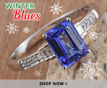 Winter Blues collection holiday gifts.
