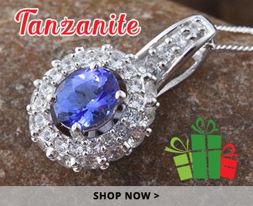 Tanzanite holiday gifts.