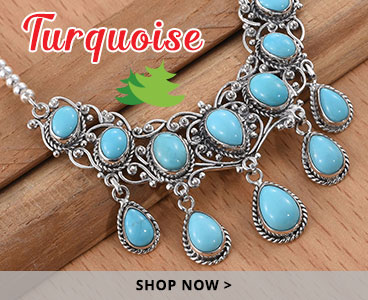 Turquoise holiday gifts.