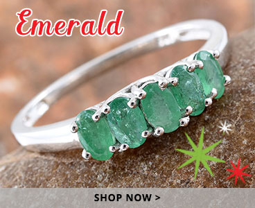 Emerald holiday gifts.