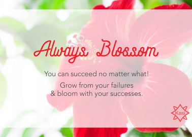 always blossom
