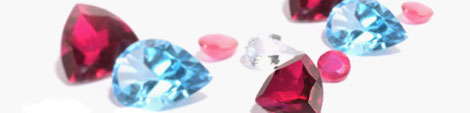 Birthstone jewelry.