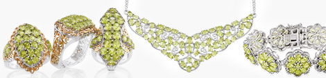 View peridot rings, necklaces and bracelets at Shop LC.
