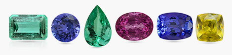 Find octagon, round, pear, oval, cushion and square cut IGI certified gemstones.