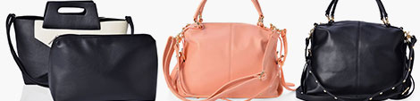 Large handbags for women.