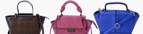 Medium handbags for women.