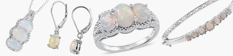 Enjoy classic opal pendants, earrings, rings and bangles at Shop LC.