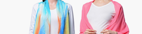 Discover pink and multi color shawl wrap scarves for women.