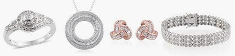 April birthstone jewelry.