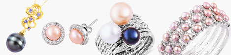 Discover colorful pearl pendants, earrings, ring sets and rings at Shop LC.