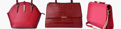 Red handbag for women at Shop LC.