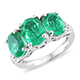 Emeraldine Quartz Ring