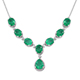 Emeraldine Quartz Necklace