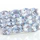 Espirito Santo aquamarine ring in sterling silver.